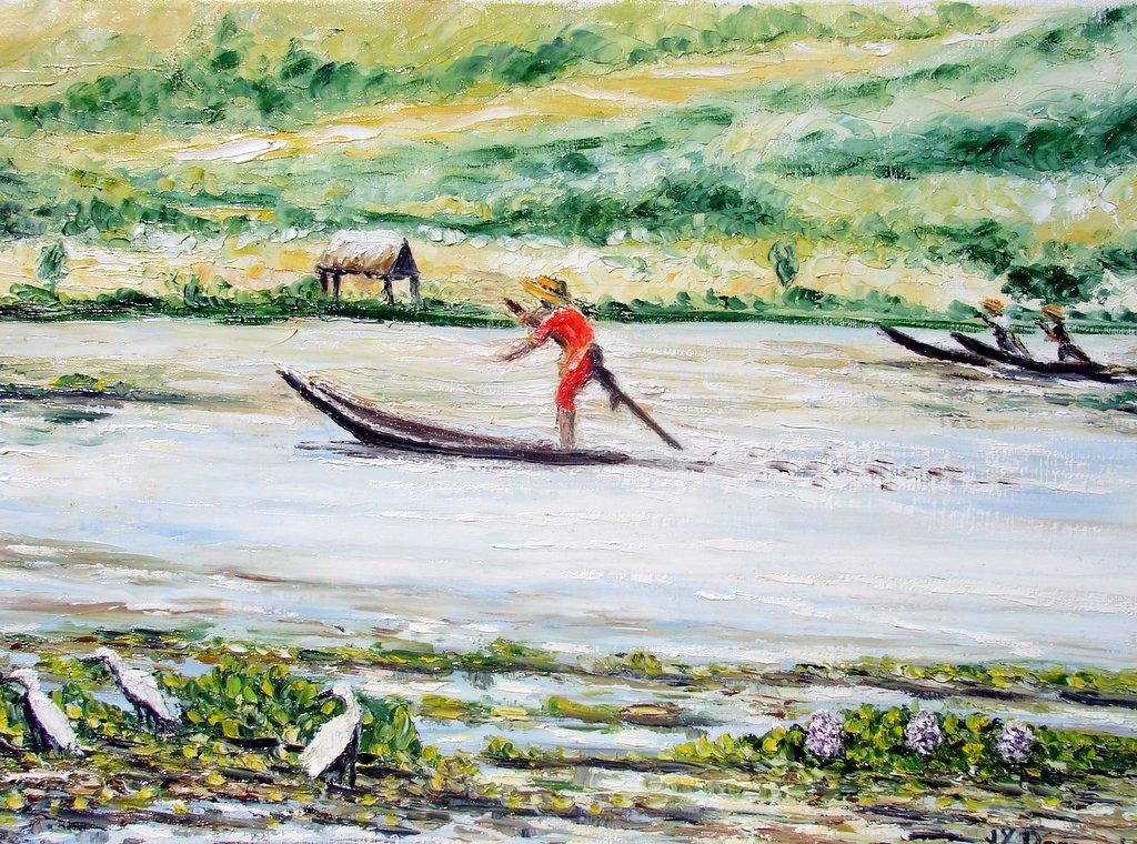 les pêcheurs du lac Inle / Birmanie