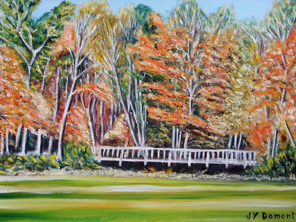 Couleurs d'automne aux White Mountains / Etats Unis