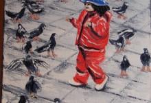 L'enfant et les pigeons ( Pérou )