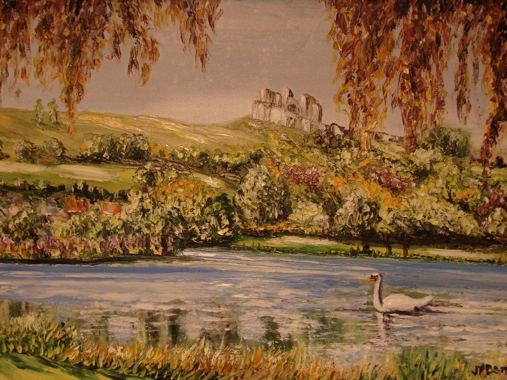 Couleurs d'automne sur les étangs d'Arques-la-Bataille