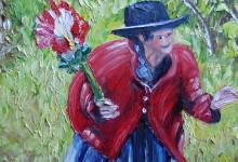La marchande de fleurs ( Pérou )