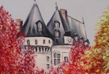 Mesnières-en-Bray : couleurs d'automne au château