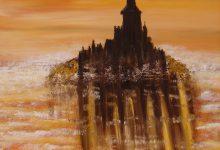 Brumes du soir sur le Mont-Saint-Michel