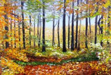 Couleurs d'automne en forêt d'Eawy