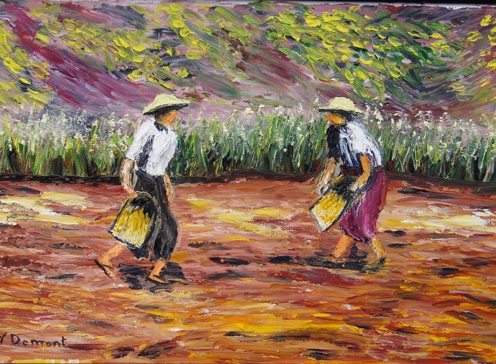 Birmanie - les semeurs