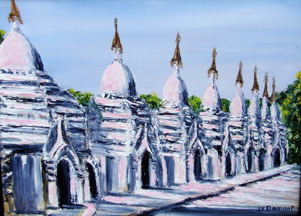 les stupas / Birmanie