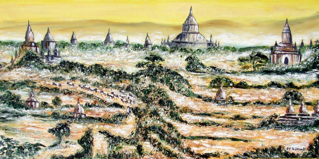 les temples de la plaine de Bagan / Birmanie