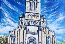 L' église de St-Saëns